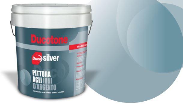 Ducotone Silver: la pittura antibatteri