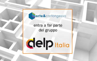ARTE e CARTONGESSO nuova acquisizione DELP ITALIA