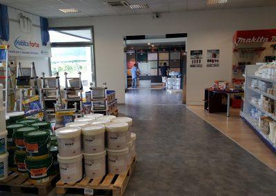 Delp Italia Lozza interno showroom