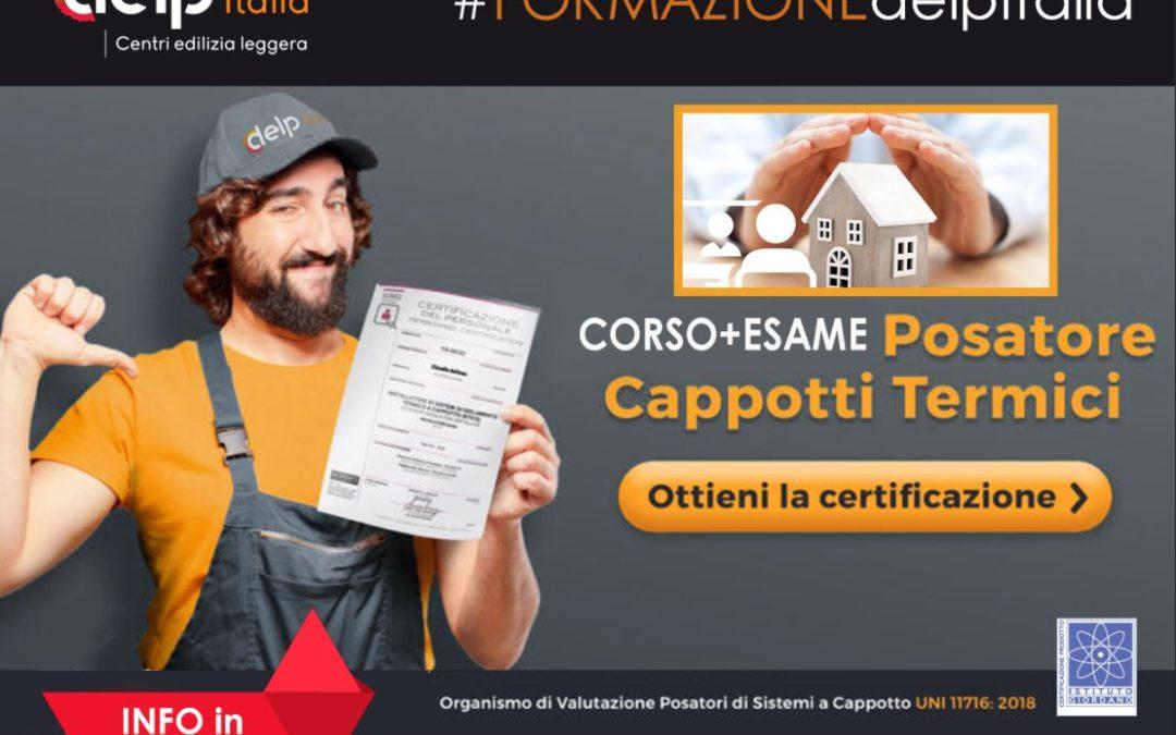 Formazione + esame certificazione POSATORI CAPPOTTO TERMICO
