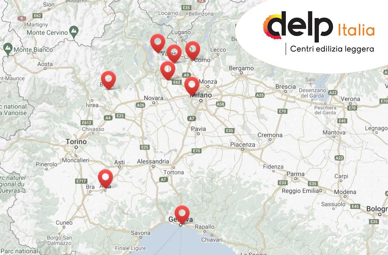 Centri DELP Italia